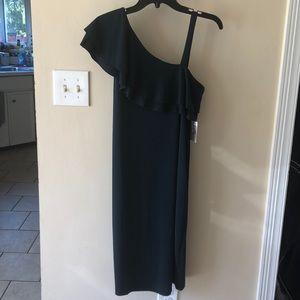 Jessica Simpson maternity ruffle dress